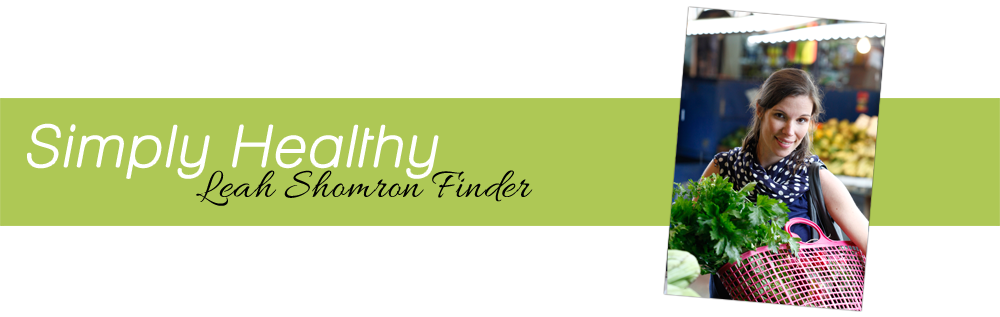 Simply Healthy - Leah Shomron Finder